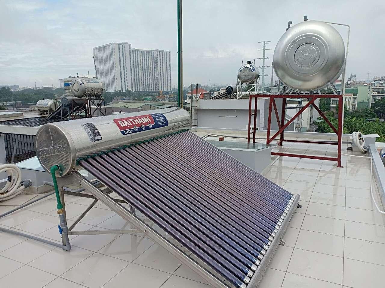 Có các loại máy năng lượng mặt trời nào?